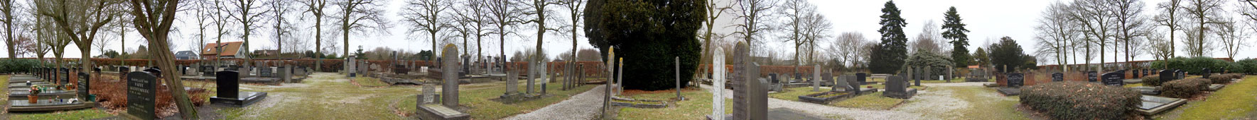 Begraafplaats HB Hulsmanstraat